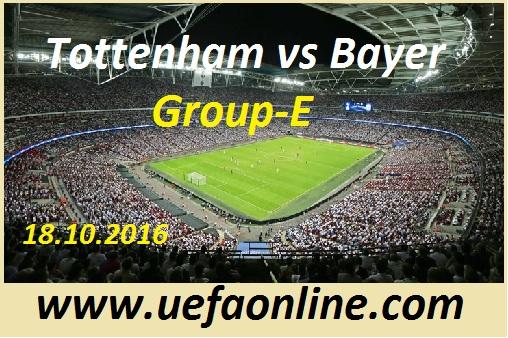 Live Stream Tottenham vs Leverkusen 2016