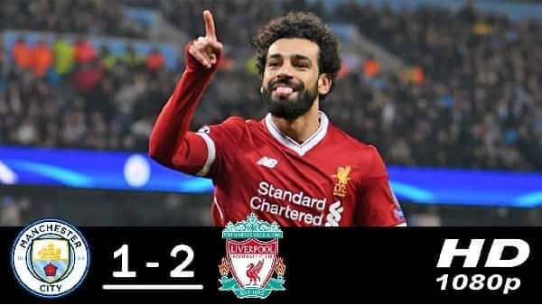 Manchester city vs Liverpool Goals and Highlights