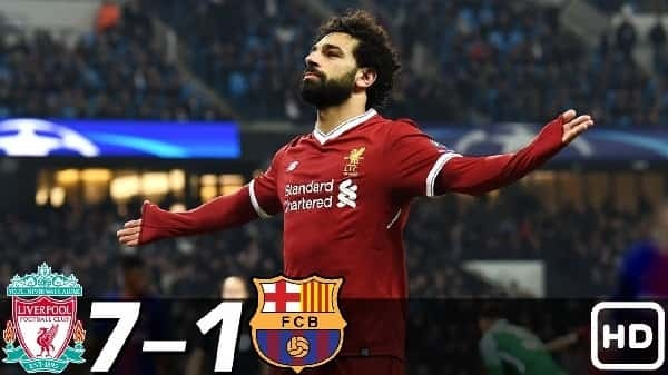 Liverpool vs Barcelona Highlights and Goals