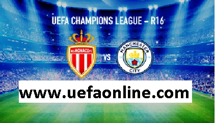 Live Monaco vs Manchester City Stream