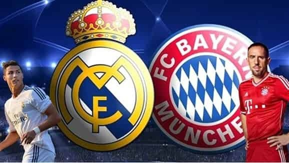 Real Madrid vs Bayern Semifinal 2018 Live