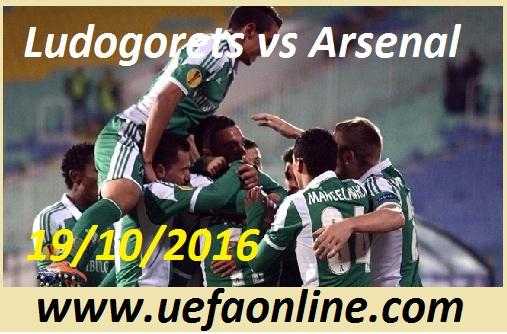Watch Ludogorets vs Arsenal UEFA Online