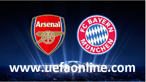Arsenal vs Bayern Munich live