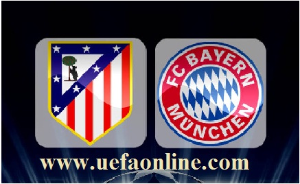 Atletico vs Bayern uefa online