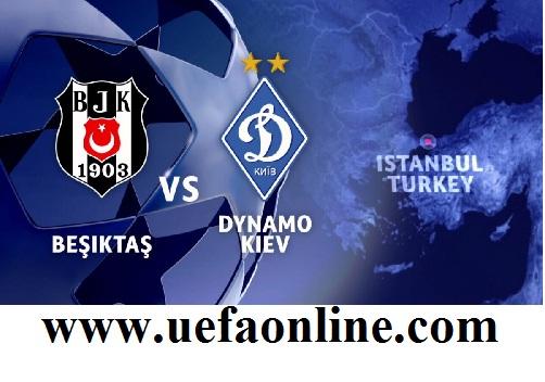 Besiktas vs Dynamo Kyiv Live