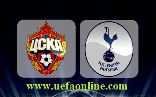 CSKA Moskva vs Tottenham stream live