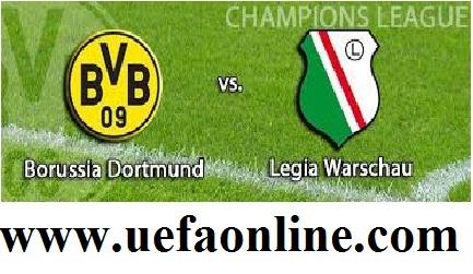 Dortmund vs Legia Live