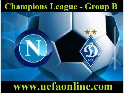 Dynamo Kyiv vs Napoli