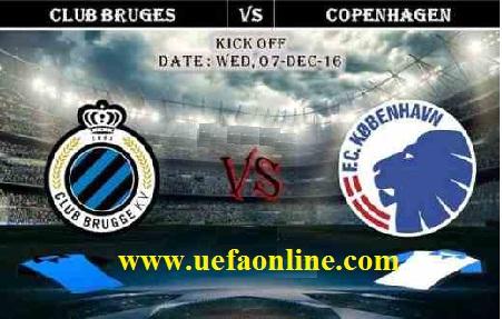 Kobenhavn vs Club Brugge uefa online