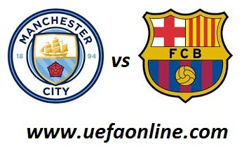 Man City vs Barcelona live