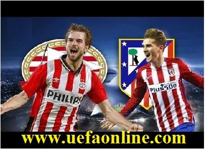 PSV vs Atletico live