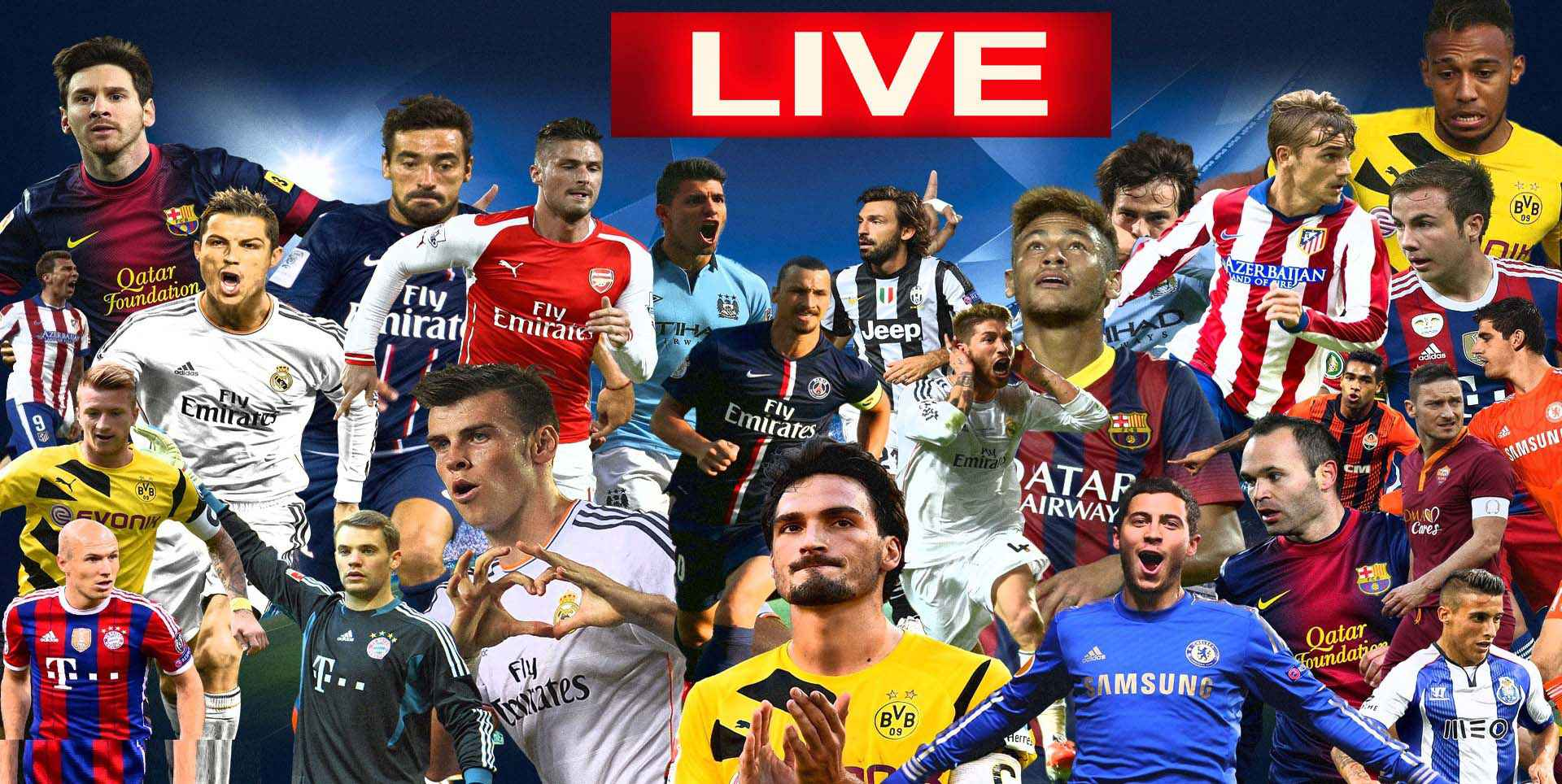 Watch UEFA Online | Live Streaming | Results | Highlights slider