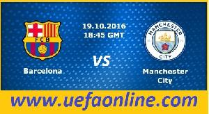 2016 Man City vs Barcelona Live Streaming