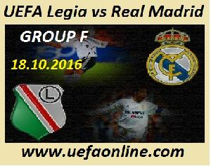 Live Legia vs Real Madrid UEFA Streaming