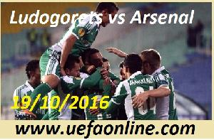 Watch Ludogorets vs Arsenal UEFA Online
